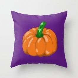 Pumpkin #3 Throw Pillow