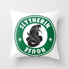 Slytherin House Throw Pillow
