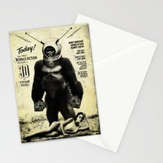 Robot Monster Stationery Cards