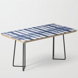 Tiki Shibori Blue Coffee Table