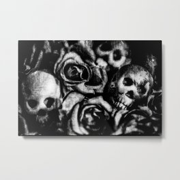Lay Down Metal Print