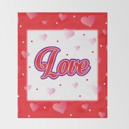 Love is... Throw Blanket