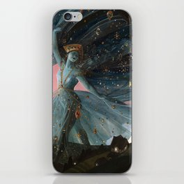 The Veil of Night iPhone Skin