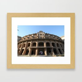 Plaza de toros - Matteomike Framed Art Print
