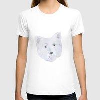 westie T-shirts featuring Westie by belgoldie