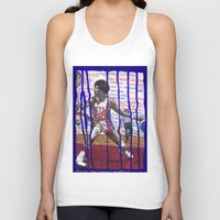 nba Tank Tops featuring NBA PLAYERS - Julius Erving by Ibbanez