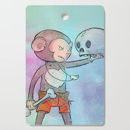 Monkey Pirate Cutting Board