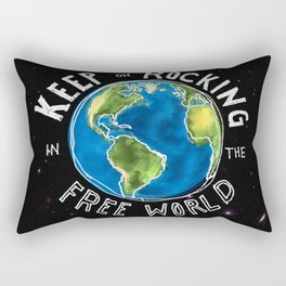 Keep On Rocking Rectangular Pillow
