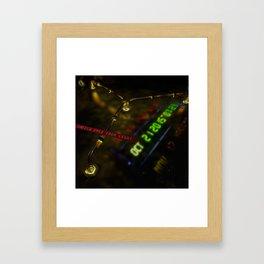 Flux Capacitor Framed Art Print