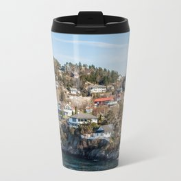Arrival in Bergen Norway Travel Mug
