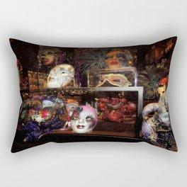 Mardi Gras Madness Rectangular Pillow