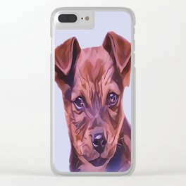 The Airedale Terrier Puppy Clear iPhone Case