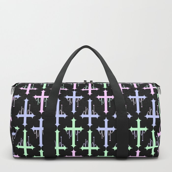 Crosses with Beads Duffle Bag
