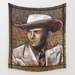 Just Another Guy on a Lost Highway Wall Tapestry