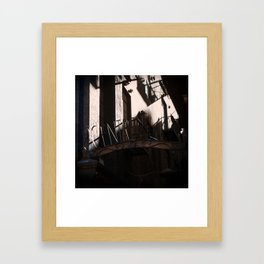 Paris Melbourne Framed Art Print