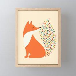 Little Fire Framed Mini Art Print