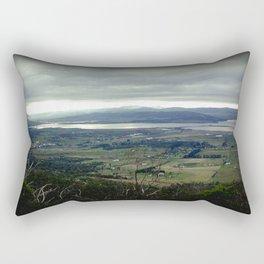 Tasmania's rural & mountainscape Scenery Rectangular Pillow