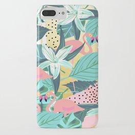 Flamingo Tropical #society6 #decor #buyart iPhone Case