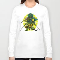 tmnt Long Sleeve T-shirts featuring TMNT by Alex Trinidad Art