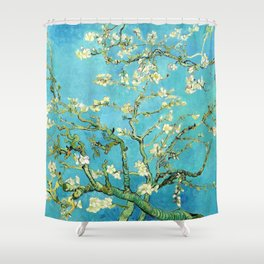 Vincent Van Gogh Almond Blossoms Shower Curtain