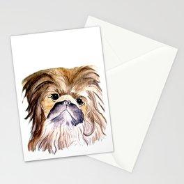 Pekingese love Dogs Stationery Cards