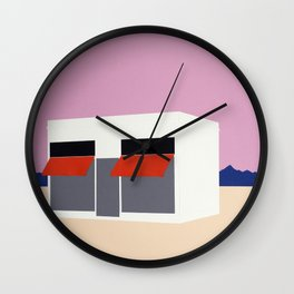 Sunset Boutique Wall Clock