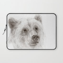 Grizzly :: A North American Brown Bear Laptop Sleeve