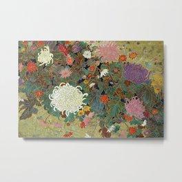 Vivid type flower【Japanese painting】 Metal Print