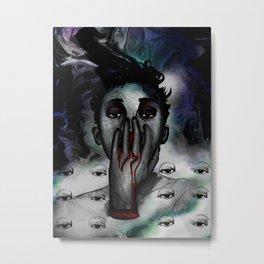 Nose Bleed  Metal Print