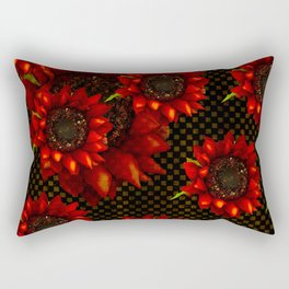SUNFLOWERS OF AUTUMN HARVEST Rectangular Pillow