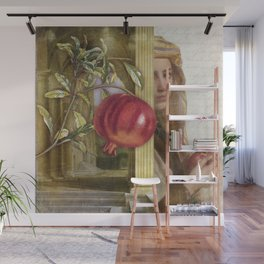 The Pomegranate Eater Wall Mural