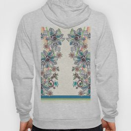 Wire Floral Hoody