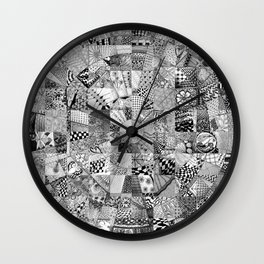Mandala 2 Wall Clock