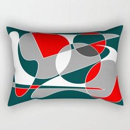 Abstract #76 Rectangular Pillow
