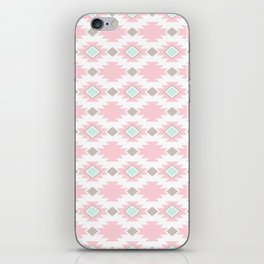 Pink Aztec Pattern iPhone Skin