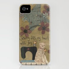 Stitched By Me iPhone (4, 4s) Slim Case