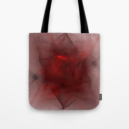 Folds in Red (Red series #12) Tote Bag
