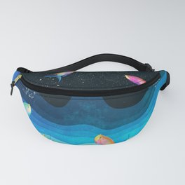 Come to reach the stars Fanny Pack