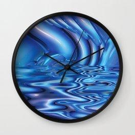 Imbued by Artist McKenzie (www.McKenzieArtStudio.com) Wall Clock