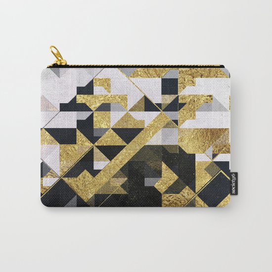 gold lyyfd Carry-All Pouch