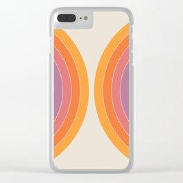 Boca Sonar Clear iPhone Case