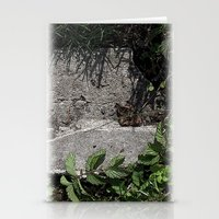 concrete Stationery Cards featuring concrete by Ruud van Koningsbrugge