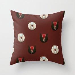 Ineffable Husbands Throw Pillow
