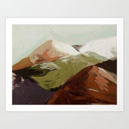 Rainbow Mountain #2 Art Print