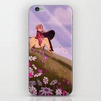 le petit prince iPhone & iPod Skins featuring Le Petit Prince by aikikou