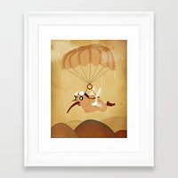 kiwi Framed Art Prints featuring kiwi by mark ashkenazi