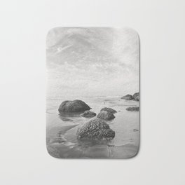 Tide Pool Big Sky Beach Coast Coastal Nautical Seascape Northwest Pacific Ocean Washington Waves Sa Bath Mat
