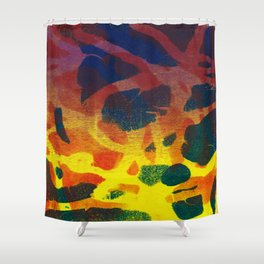 Abstract No. 124 Shower Curtain