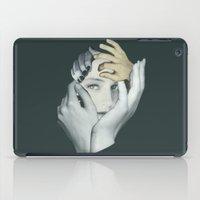 cuddle iPad Cases featuring Cuddle by fabiotir