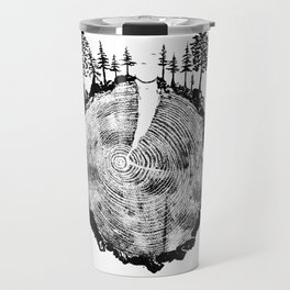 Over the River and Through the Woods Travel Mug